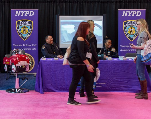NYPD Domestic Violence Unit at the IBS.
