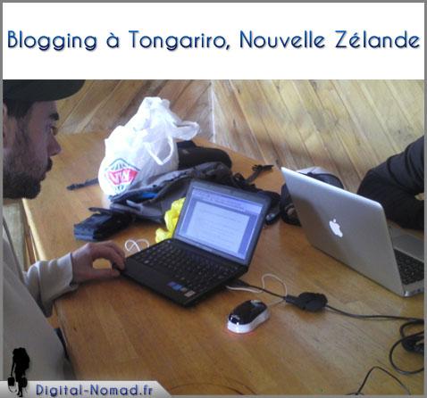 blogging nouvelle zelande