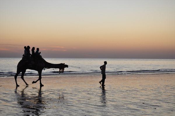Mandvi Beach of Kutch - Gujarat - India