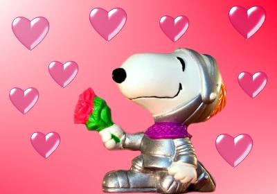 Digital Postcard Grusskarten zum Thema Snoopy