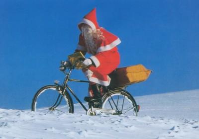 Digital Postcard Grusskarten zum Thema Fahrrad