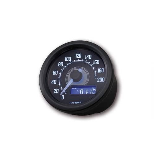 small resolution of daytona gauges 1995 ford mustang wiring diagram velona 200 speedometer 60mm black daytona instruments