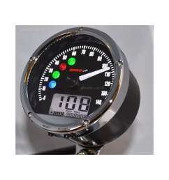 crb01s tnt 01s speedometer 140 mph kph includes a magnetic speed sensor [ 1000 x 1000 Pixel ]