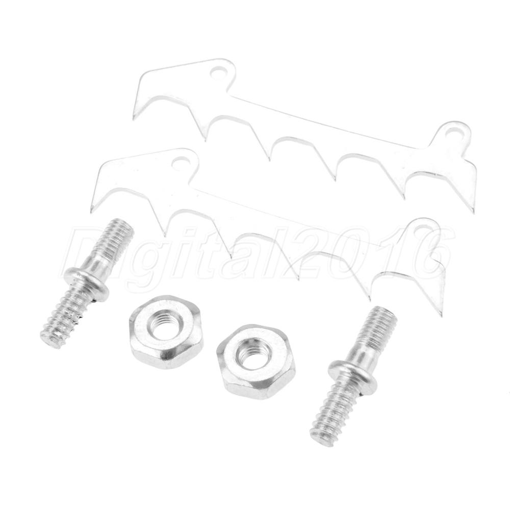 Bumper Spike Bar Stud Nuts For Stihl 017 018 MS170 MS171