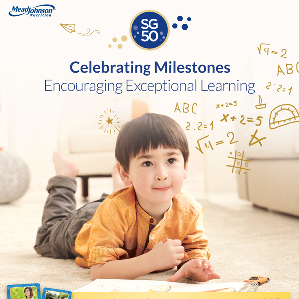 Print & Social Ads for Enfagrow SG50 - Creative Services