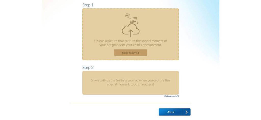 Screen grab of the Enfagrow A+ Microsite - Web Design & Development