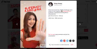 Shilpa-Shetty-joins-the-LifebuoyKarona-Hashtag-Challenge-on-TikTok