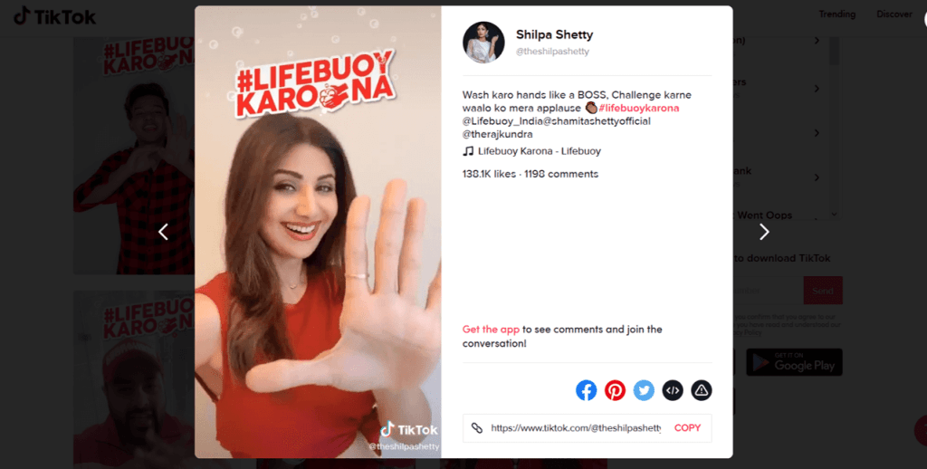 chiến dịch TikTok Lifebuoy