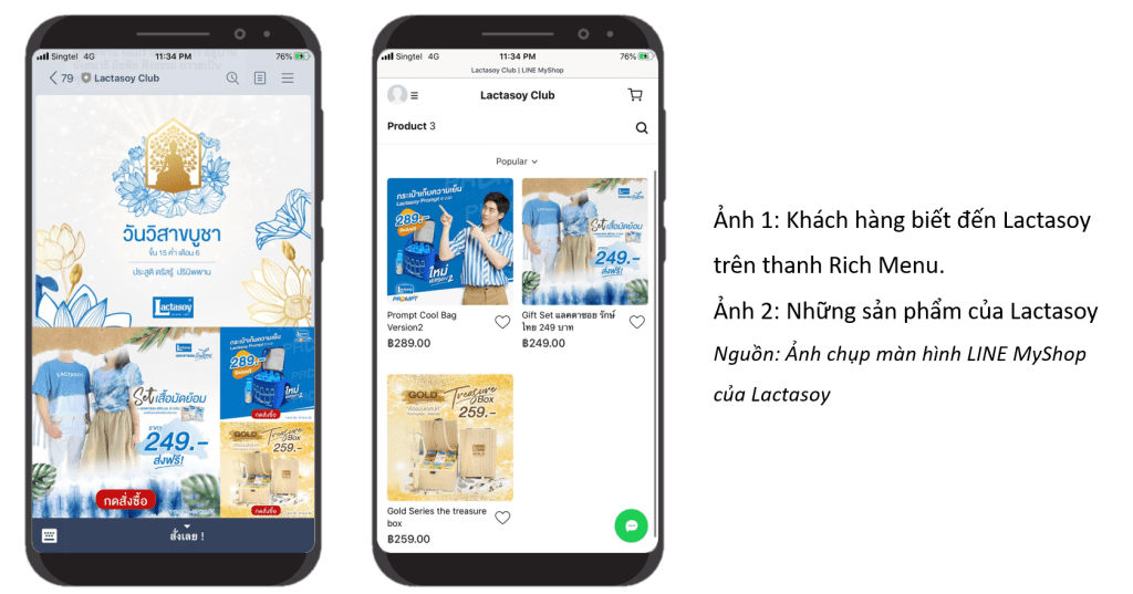 LINE MyShop | LINE Marketing | Quảng cáo LINE