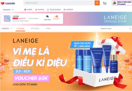 lazada super brand day   Laneige   digital 38