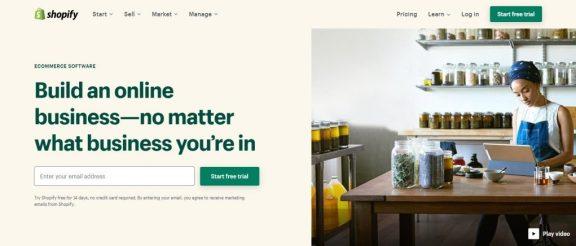 Shopify giải pháp bán hàng trực tuyến xuyên biên giới