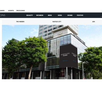 Robinsons SG ecommerce Shopify store-