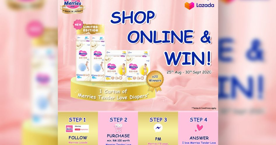 D38 | MY Merries Lazada Sales Campaign Featured IMG