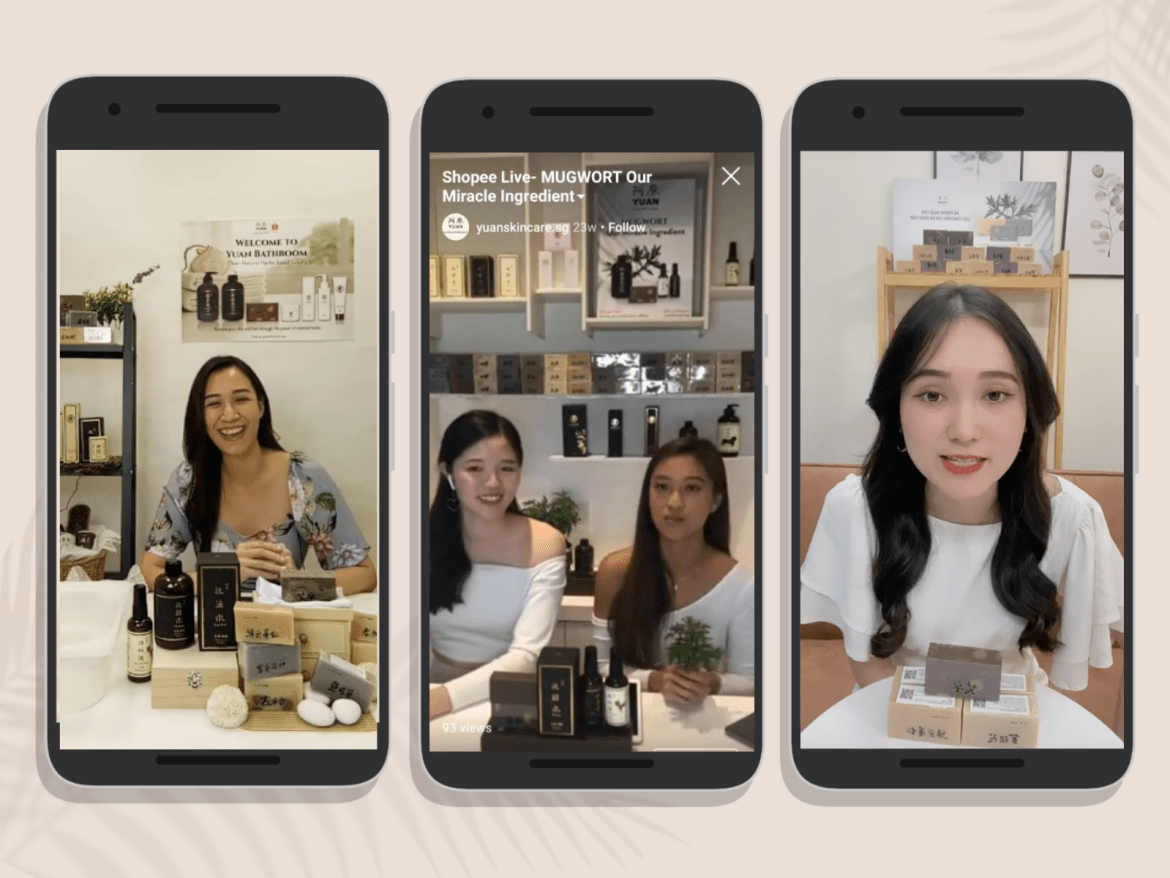 Live Selling: How Yuan Skincare Leveraged the 'Future of E-Commerce' | Digital 38