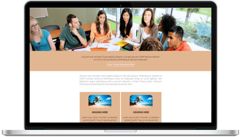 Full Width Responsive HTML Email Template