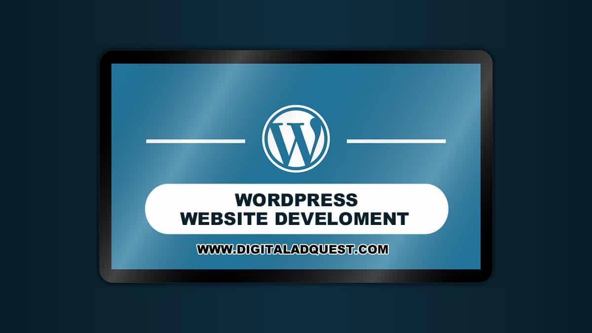 WordPress Website Development In Delhi India