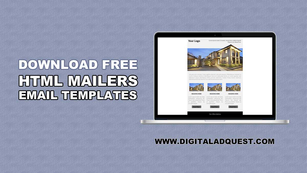 Download Free Responsive HTML Mailer Email Template