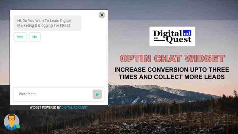 Optin Chat Widget
