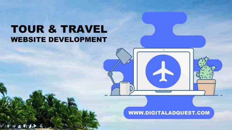 Tour and Travel Website Development in Delhi India