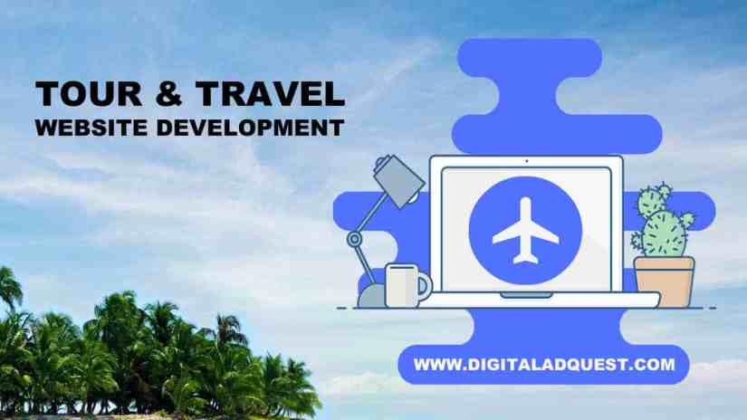 Tour and Travel Website Development in Delhi India