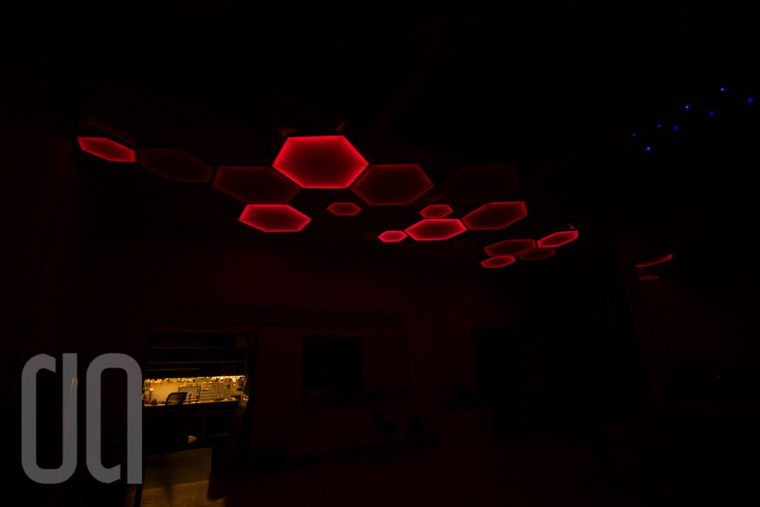 Hexagon Lighting Tiles