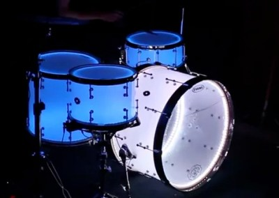 Metric's Interactive LED Drum Kit