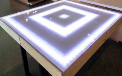 Our latest project, Deviant Art Tables