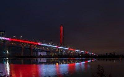 'Samuel De Champlain Bridge' by HLB Lighting