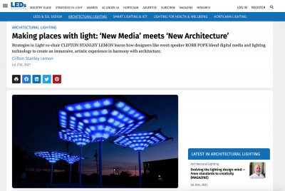 Digital Ambiance Featured in LEDs Magazine!