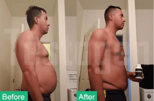 Testogen Results for Fat Loss