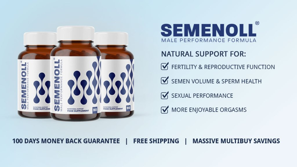 Semenoll Review & Main Benefits