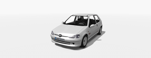 Peugeot 106 S2 mod release for Assetto Corsa, Digital Apex Modding