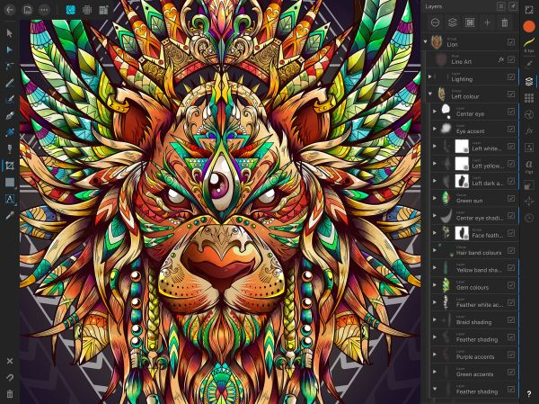 Affinity Designer 'adobe Illustrator Ipad