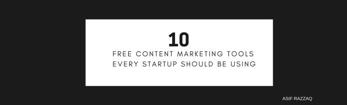 Digital Marketing: Content Marketing Tols