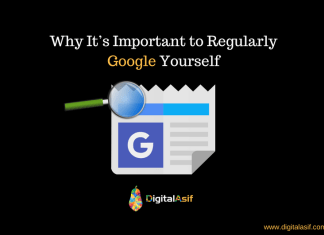 Why It's Important to Regularly Google Yourself