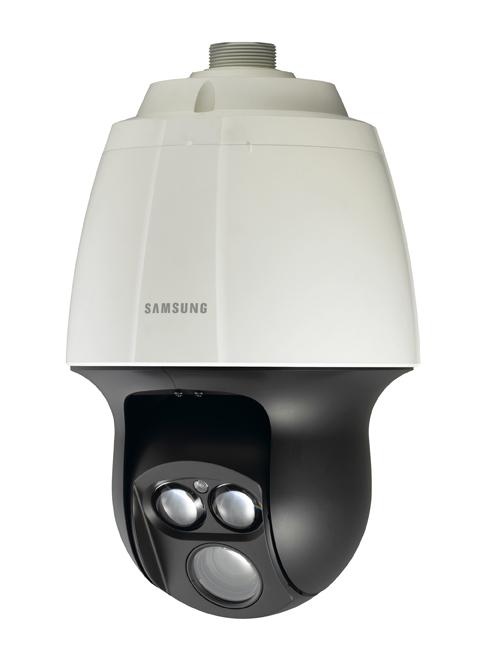 Samsung Techwin lanza la cmara domo PTZ SCP2370RH