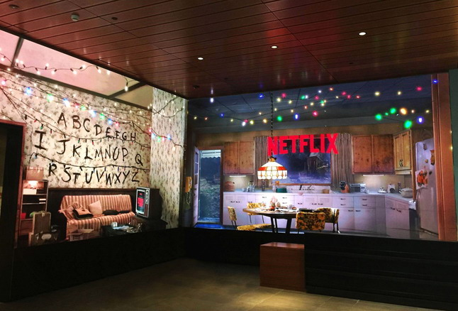 Netflix Dipped Into Their Series With Led Videowall 13K Visitors To Its New Headquarters In LA