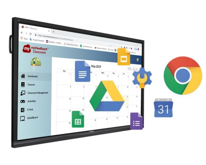 ViewSonic y la evolución de la educación virtual e interactiva