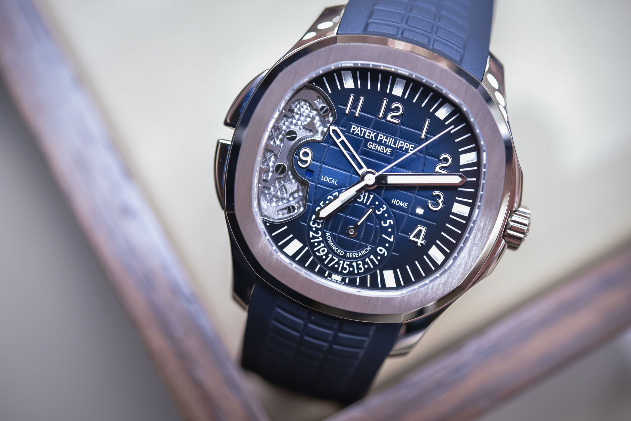 Best Patek Philippe Advanced Research Aquanaut Travel Time