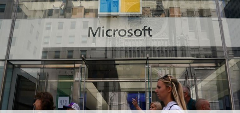Microsoft overtakes Amazon as second most valuable U.S. company