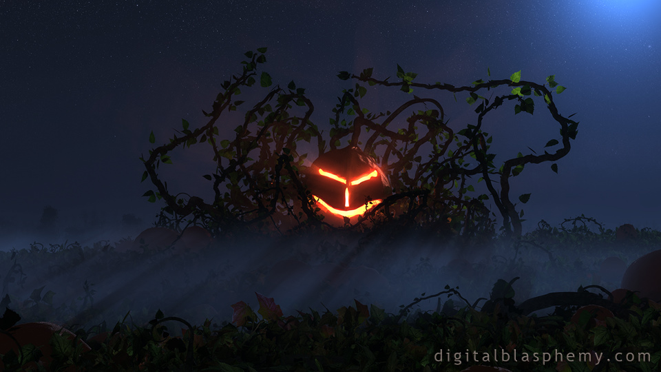 Free Fall Wallpaper Downloads Digital Blasphemy 3d Wallpaper Visitation Halloween