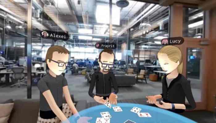 Oculus Social VR