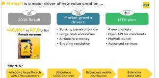 MTN Mobile Money tire la croissance du Groupe MTN avec +47% et 27 millions d'utilisateurs