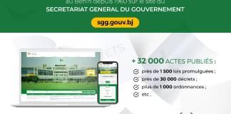 E-Gouvernance : Le gouvernement met en ligne tous les décrets et lois promulguées au Bénin depuis 1960