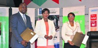 Osiane 2019 : Luc Missidimbazi célèbre le partenariat entre le PNUD et l'association PRATIC pour l'accompagnement des start-up congolaises
