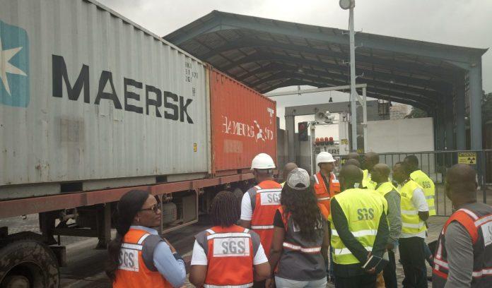 La SGS au Port de Douala