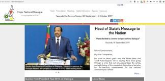 Dialogue national Cameroun