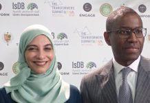 Amadou Host et Dr. Hayat Sindi