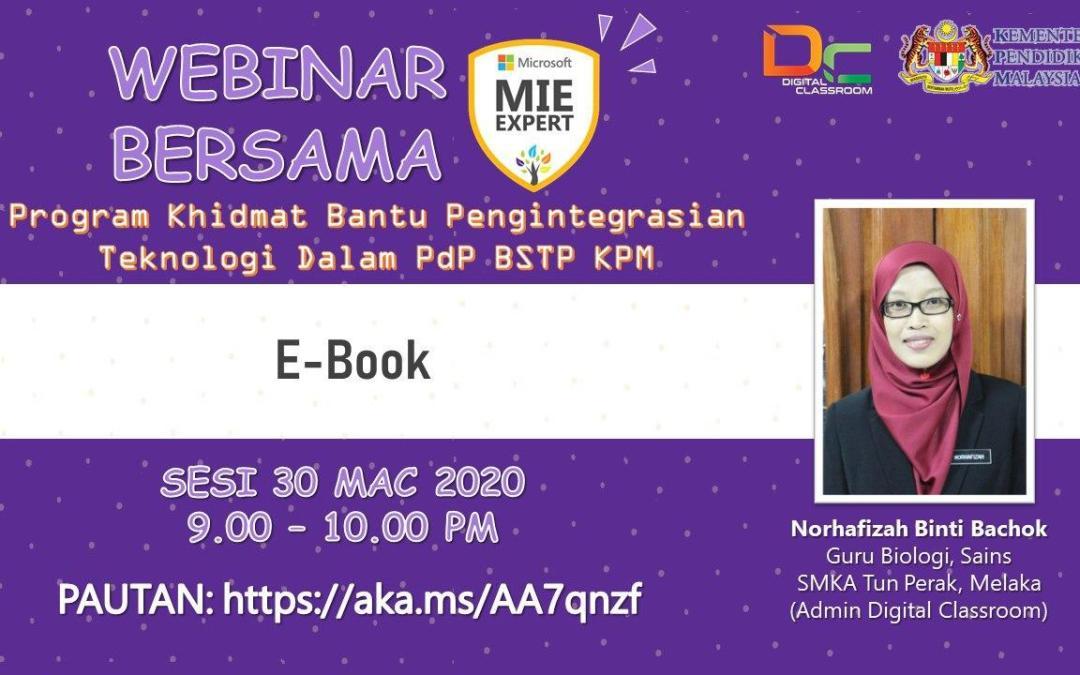 e-Pembelajaran eBook Bersama Norhafizah bt Bachok