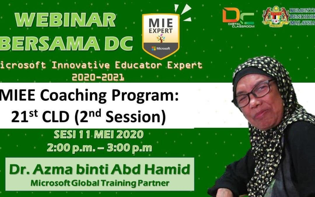 MIEE Coaching Program : 21st CLD (2nd Season)